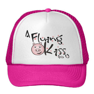 A Fluing Kiss to you Trucker Hats