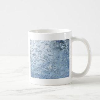 A Flurry Of Frost Flowers Coffee Mug