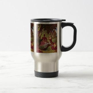A Flute Concert By Spitzweg Carl Coffee Mug