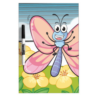 A fly in nature dry erase whiteboards