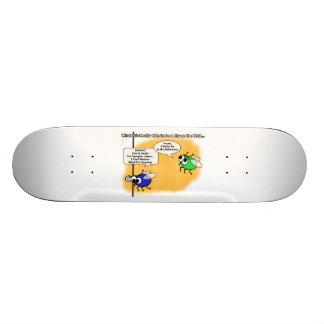 A Fly on the Wall Funny Cartoon Skateboard Deck