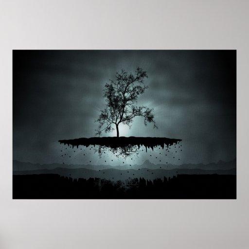 A Flying Tree Print