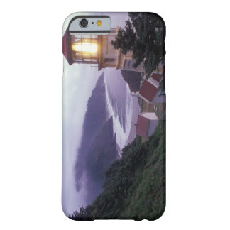 A foggy day on the Oregon coast at the Heceta Barely There iPhone 6 Case