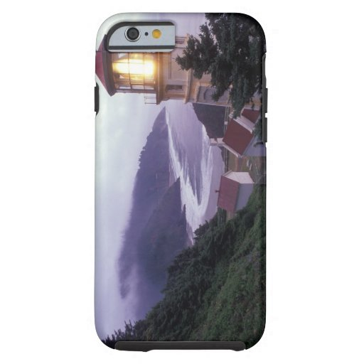 A foggy day on the Oregon coast at the Heceta iPhone 6 Case