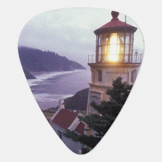 A foggy day on the Oregon coast at the Heceta Guitar Pick