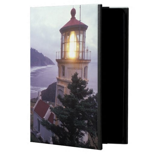 A foggy day on the Oregon coast at the Heceta iPad Air Cover
