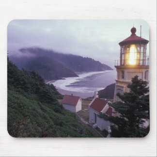 A foggy day on the Oregon coast at the Heceta Mouse Pad