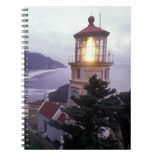 A foggy day on the Oregon coast at the Heceta Notebook