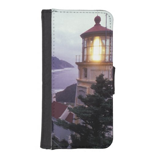 A foggy day on the Oregon coast at the Heceta iPhone 5 Wallets