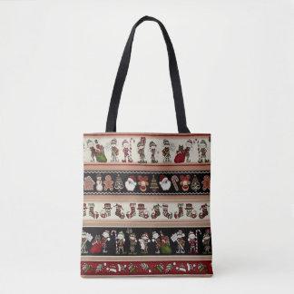 A Folk Art Christmas Christmas Tote Bag