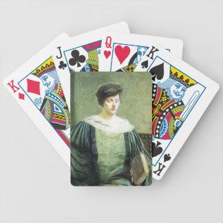 A Follower of Grolier by Julian Alden Weir Bicycle Poker Cards