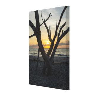 A Folly Sunrise Canvas Print