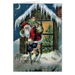 A Fond Christmas Greeting Card