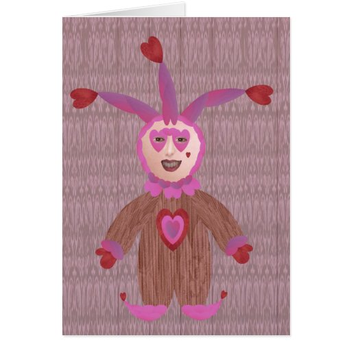A Fool For Love Greeting Card