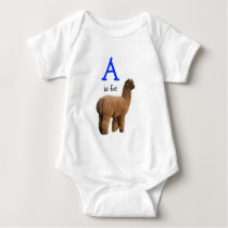A for Alpaca Infant Shirt