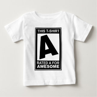 A for Awesome Baby T-Shirt