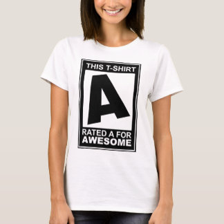 A for Awesome T-Shirt