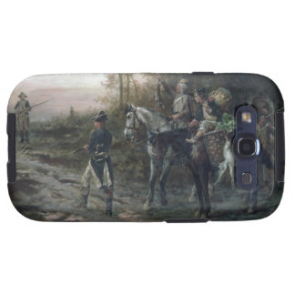 A Foraging Party Returning to Camp (oil on canvas) Galaxy SIII Cases