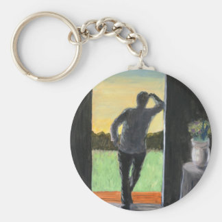 A Foreboding Mow Keychain