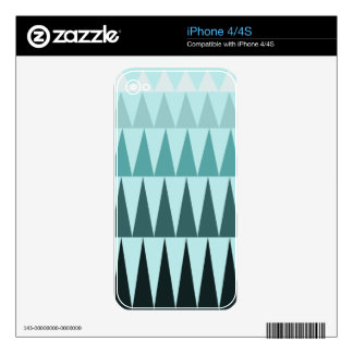 A Forest Pattern Skin For iPhone 4S