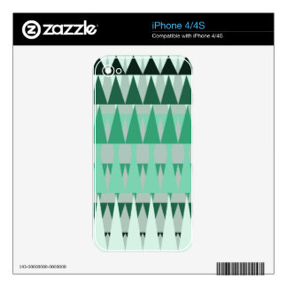 A Forest Pattern Skins For The iPhone 4S