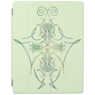 A Forest's Thorns on Green 1 iPad Cover