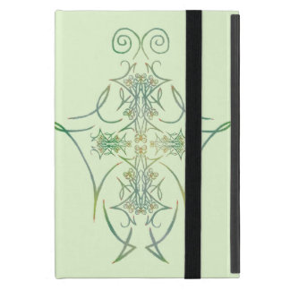 A Forest's Thorns on Green 1 iPad Mini Cover
