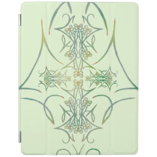 A Forest's Thorns on Green 2 iPad Cover