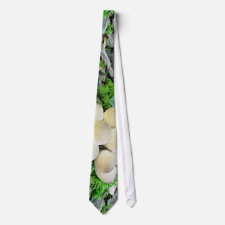 A Forest With Mushrooms Neck Tie