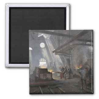 A Forge, 1893 2 Inch Square Magnet