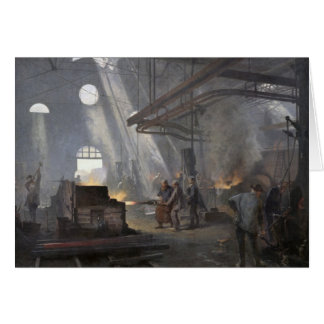A Forge, 1893 Card