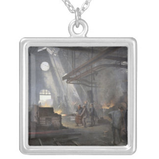 A Forge, 1893 Silver Plated Necklace