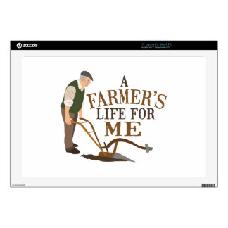 """A Former's Life For Me Decal For 17"""" Laptop"""