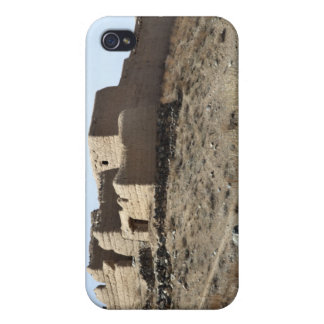 A fortified compound in the village of Akbar Kh iPhone 4 Case