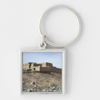 A fortified compound in the village of Akbar Kh Keychain