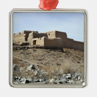 A fortified compound in the village of Akbar Kh Metal Ornament