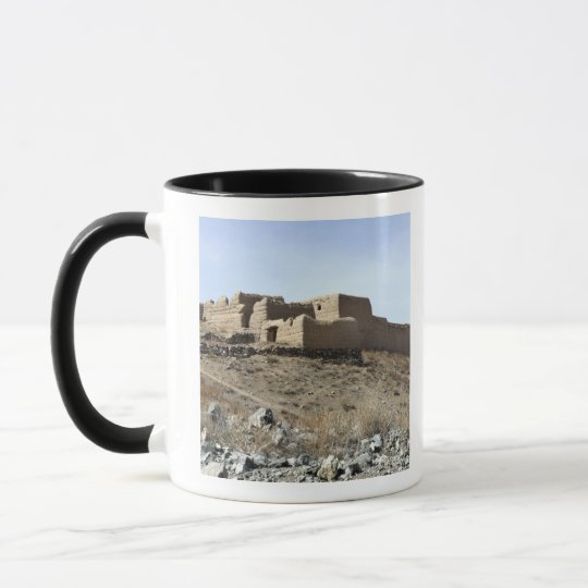 A fortified compound in the village of Akbar Kh Mug