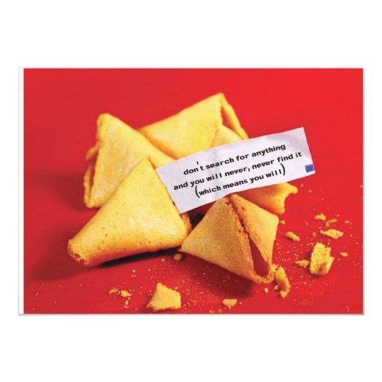a fortune | mini-print card