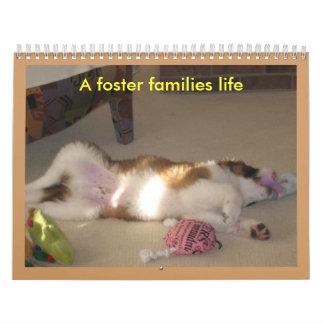 A foster families life calendars