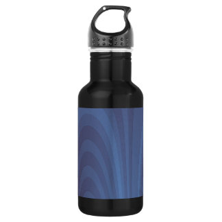 A Fountain of Blue Stainless Steel Water Bottle