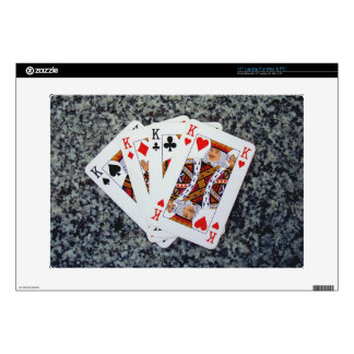 A FOUR KING GOOD HAND !! SKIN FOR LAPTOP