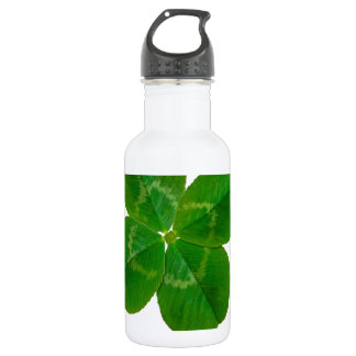 A Four Leaf Clover Water Bottle