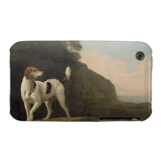 A Foxhound, c.1760 (oil on paper laid on board) Case-Mate iPhone 3 Case