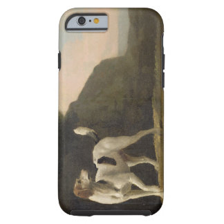 A Foxhound, c.1760 (oil on paper laid on board) Tough iPhone 6 Case