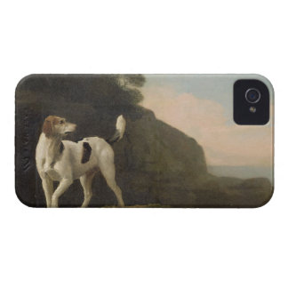 A Foxhound, c.1760 (oil on paper laid on board) iPhone 4 Cover