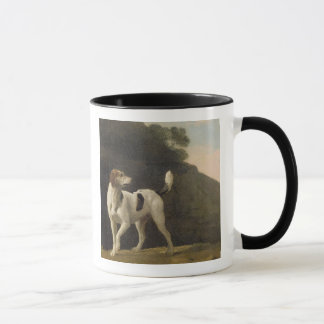 A Foxhound, c.1760 (oil on paper laid on board) Mug