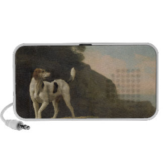 A Foxhound, c.1760 (oil on paper laid on board) PC Speakers