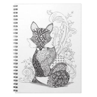 A Foxy Fox Notebook