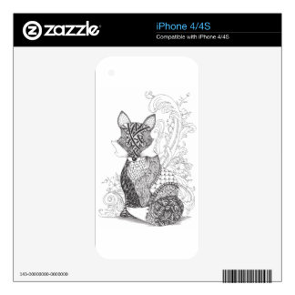 A Foxy Fox Skins For The iPhone 4