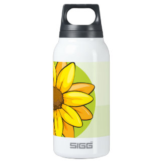 A frame with one flower SIGG thermo 0.3L insulated bottle